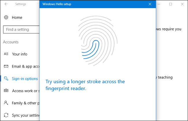 How to Log In to Your PC With Your Fingerprint or Other
