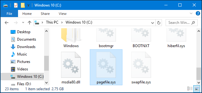 How to Make Windows Clear Your Page File at Shutdown (and When You