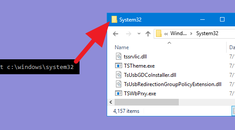 How to Open an Explorer Window from the Command Prompt's Current Directory