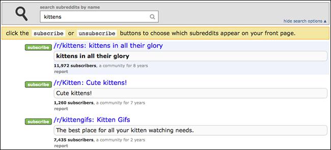 subreddit-search