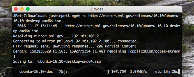 wget-continue