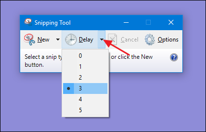 add snipping tool to toolbar