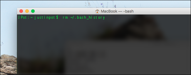 bash-clear-history