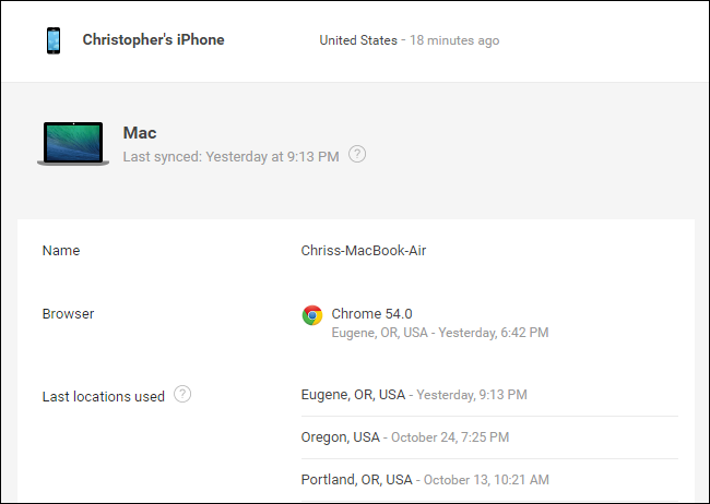 How to See Other Devices Logged in to Your Google Account
