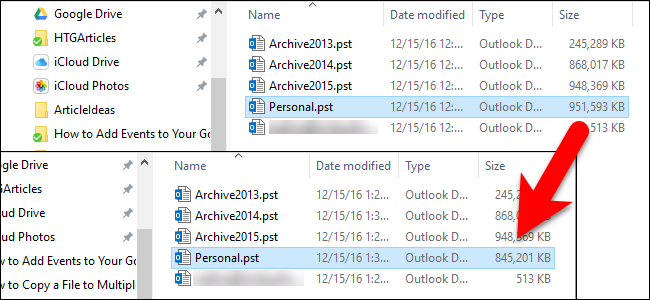 How to Reduce the Size of Your Outlook Data File