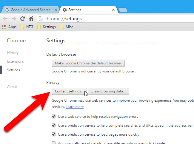 How to delete internet files on google chrome Browser cookies