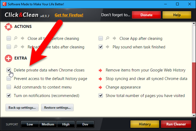 how to delete pdflite close browser