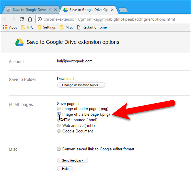 How to Download Files and Webpages Directly to Google Drive in Chrome