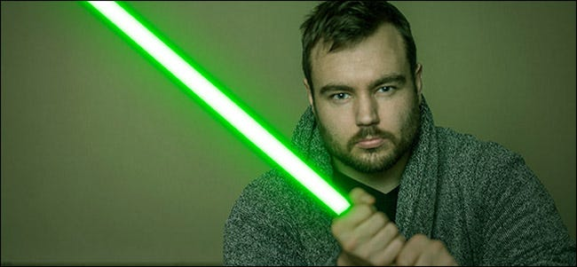 How to Create a Lightsaber in Photoshop