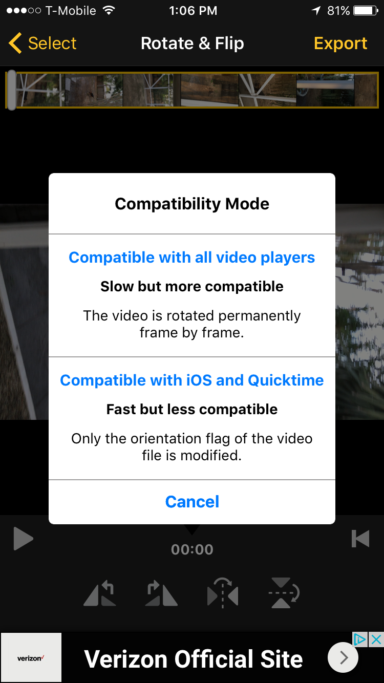 How to rotate videos on the iphone 2016 12 09 130636 ccuart Image collections
