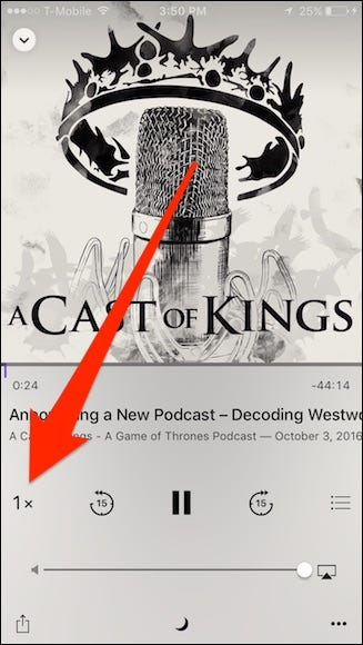 how to listen to podcasts on iphone x