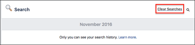 how to find search history