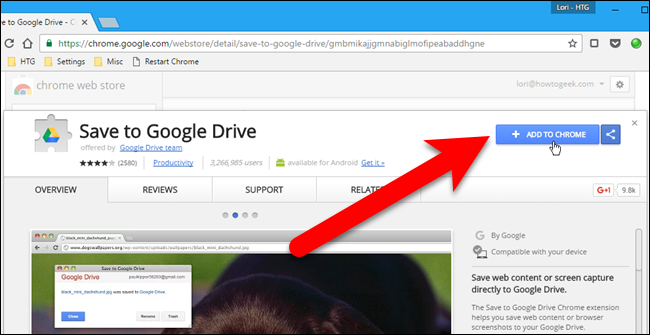 How to Download Files and Webpages Directly to Google Drive