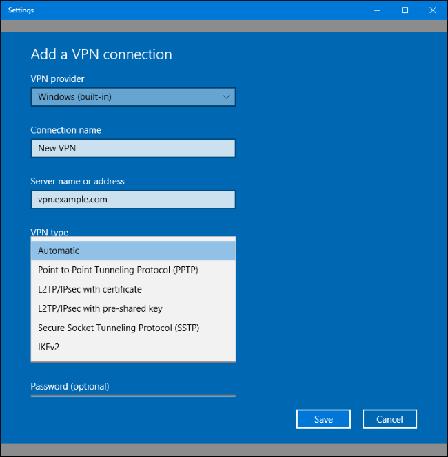 How to set up a vpn at home windows 10