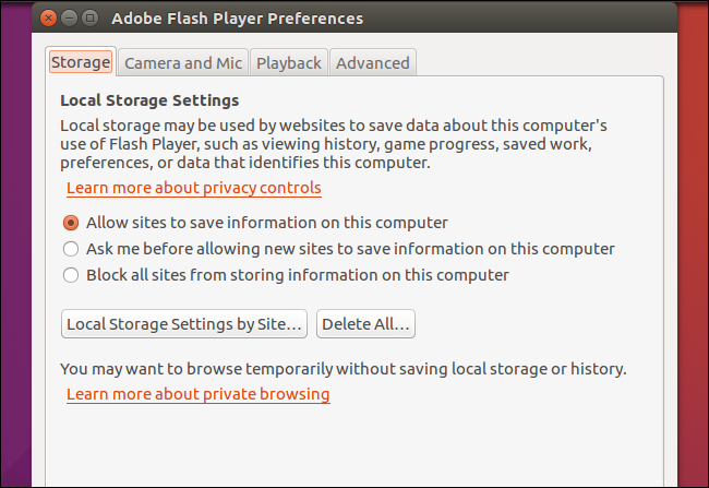 How to install the latest version of flash on ubuntu linux to find it search for flash in the dash and launch it you can use it to configure your flash plugin settings ccuart Image collections