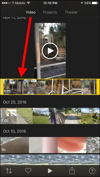 How to rotate videos on the iphone at the bottom of the screen tap the share button ccuart Image collections