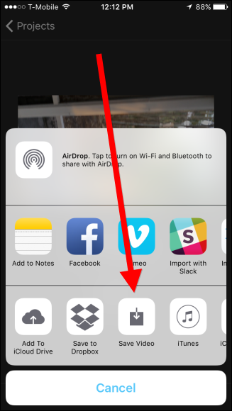 How to Rotate Videos on the iPhone