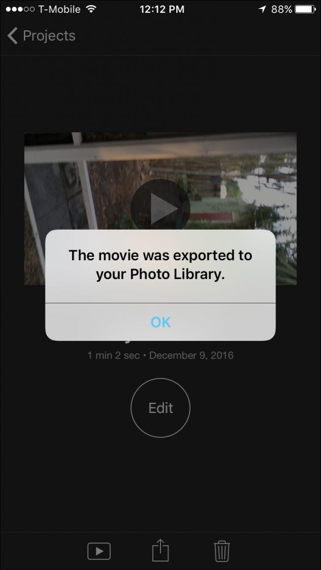How to rotate videos on the iphone now you can rotate and fix any videos that you may have unwittingly filmed in portrait ccuart Image collections