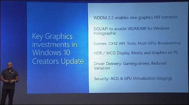What's New in Windows 10's Creators Update