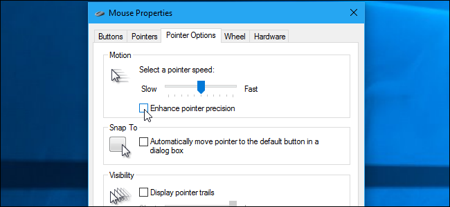 "How to Fix ""Enhance Pointer Precision"" Automatically Enabling or"
