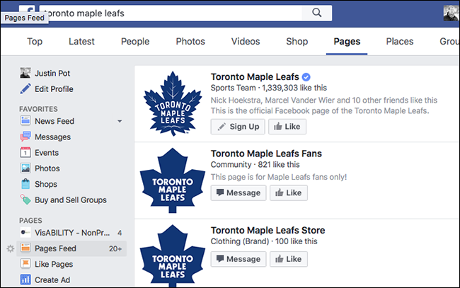 leafs-pages-unofficial