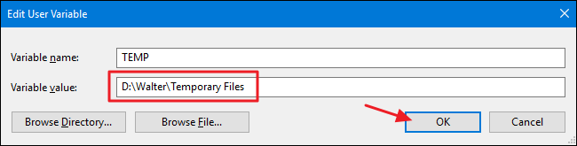 How to Move Windows' Temporary Folders to Another Drive