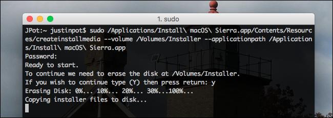 terminal-running