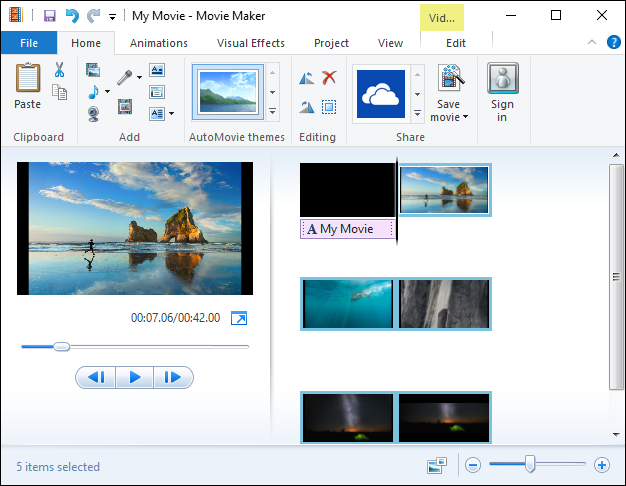movie maker untuk windows 7 64 bit