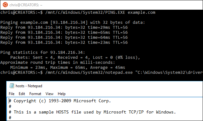 how to run ssh on bash for windows 10