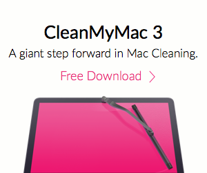 CleanMyMac Advertisement