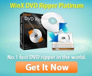 WinX DVD Ripper Platinum Advertisement