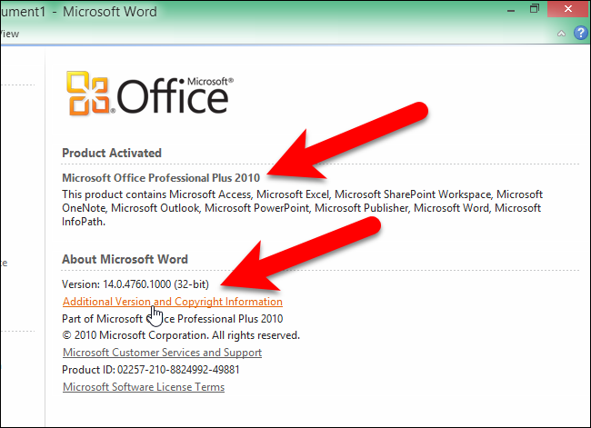How to Find Out Which Version of Microsoft Office You're