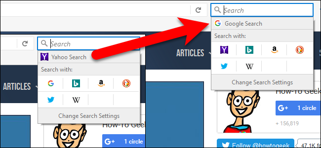 how to set google as default page in firefox