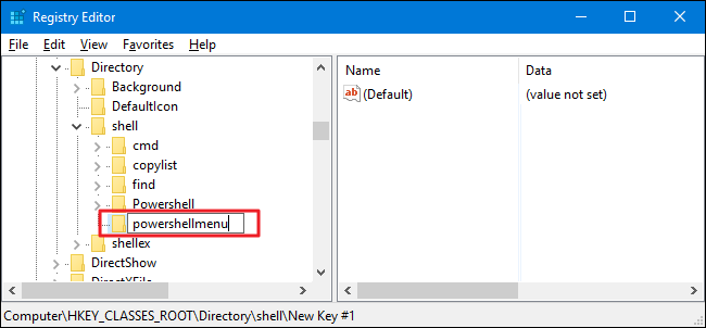 """How to Add """"Open PowerShell Here"""" to the Right-Click Menu for a"""
