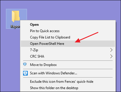 "How to Add ""Open PowerShell Here"" to the Right-Click Menu"