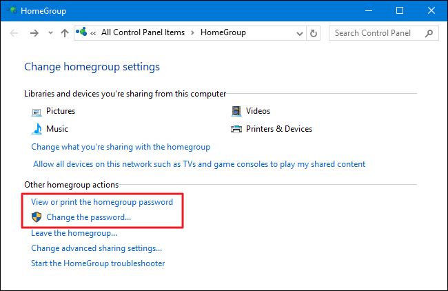 cannot create homegroup win 10