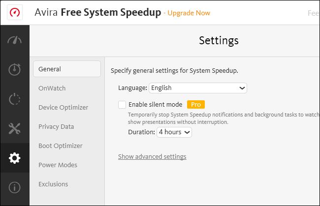 disable avira software updater