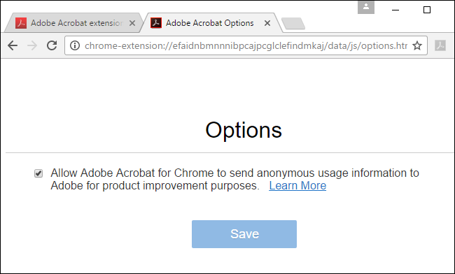 What Is the Adobe Acrobat Extension Chrome Wants Me to Install?