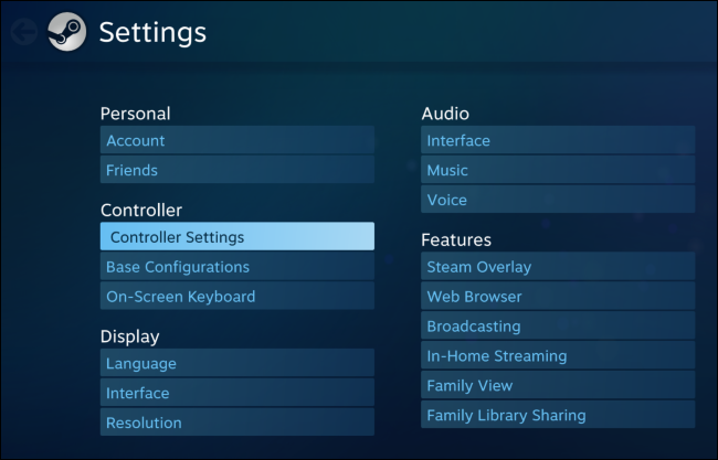 How to put steam big picture mode