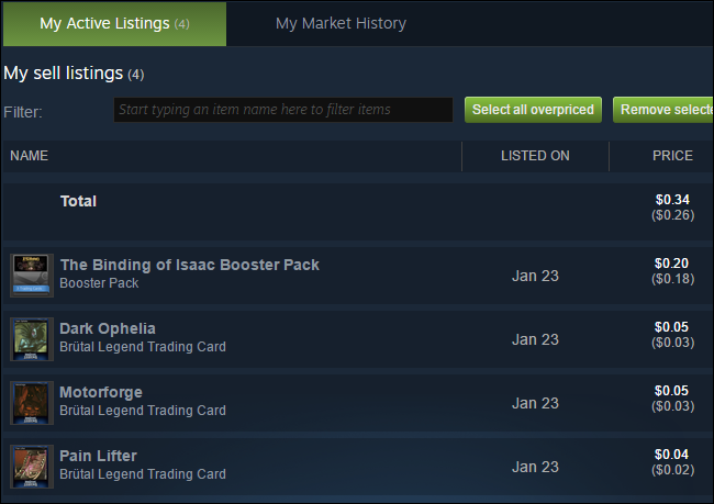 How to Sell Your Steam Trading Cards (and Get Free Steam Credit)