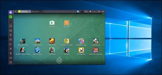How to Run Android Apps and Games on Your Windows Desktop with