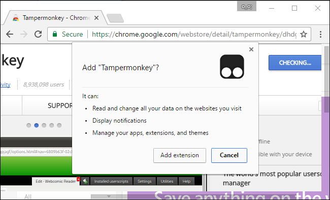 "Why Do Chrome Extensions Need ""All Your Data on the Websites You Visit""?"
