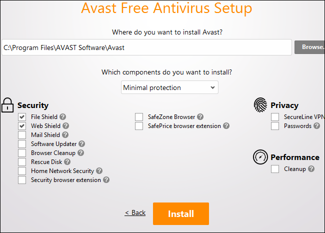 avast turning off itself