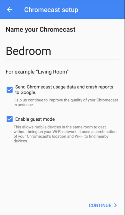 How to Setup Your New Chromecast