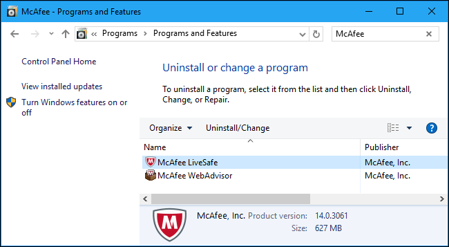 mcafee antivirus free download for windows 10 dell laptop