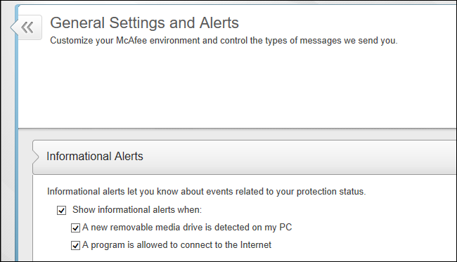 How to Get Rid of McAfee's Notifications and Bundled Software