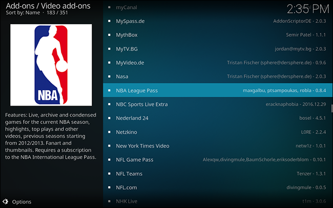 kodi-legal-addons