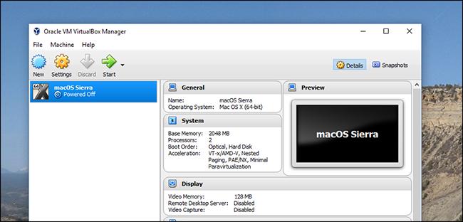 How to Install macOS Sierra in VirtualBox on Windows 10 – Log@X X B