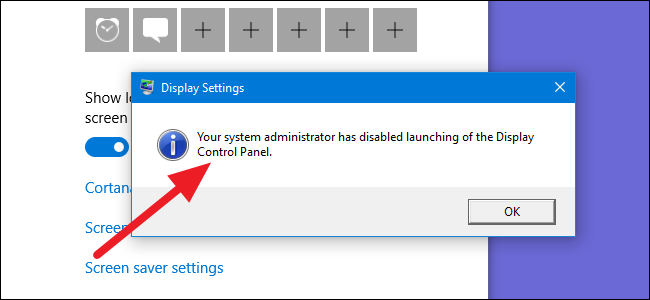 How to Prevent Windows Users From Changing the Screen Saver