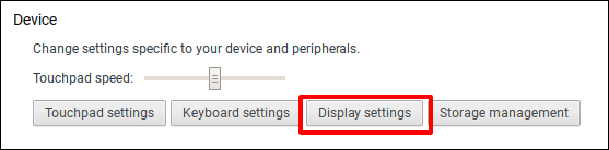 how to change screen orientation on chromebook
